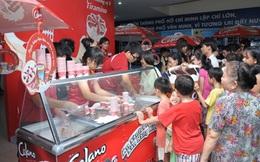 Kido bắt tay với Vinamilk đi bán nước giải khát và kem