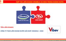 Liên doanh Vibev của 2 ông lớn Vinamilk – KIDO: Tài chính dồi dào, có sẵn 1.000.000 điểm bán và mạng lưới xuất khẩu tại 30 quốc gia