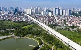 [Ảnh] Toàn cảnh đường vành đai 3 Mai Dịch - Nam Thăng Long nhìn từ trên cao sau gần 2 năm thi công