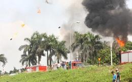 Vụ cháy kho hóa chất ở Long Biên tạo ra 73,84 tấn chất thải