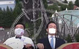 Công viên giải trí tại Nhật Bản yêu cầu du khách không la hét khi chơi tàu lượn siêu tốc vì lo ngại lây nhiễm Covid-19