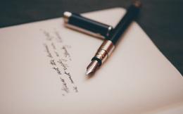 Viết tặng bạn 8 bức thư, hi vọng bạn sống mà không hối tiếc