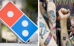 """Tặng """"pizza trọn đời"""" cho khách dám xăm logo hãng lên người, Domino's Pizza """"vỡ trận"""" với 350 người đăng kí chỉ trong... 5 ngày"""