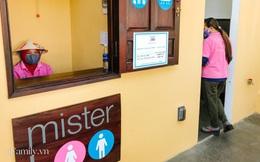 Mục sở thị nhà vệ sinh 5 sao đang hot nhất Hội An: Ra vô bằng cửa tự động cảm biến, điều hòa mát lạnh và hàng ghế chờ như công viên liệu có đáng giá 10k/lượt?