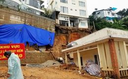 Đà Lạt mưa lớn tạo hố tử thần, thông cổ thụ bật gốc và 30 du khách di dời khẩn cấp