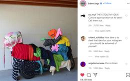 Lấy cảm hứng thiết kế từ thời trang 'Ninja Lead', nghệ sĩ Việt tố nhà mốt Balenciaga ăn cắp ý tưởng của mình