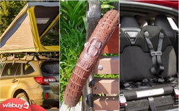 """Loạt phụ kiện """"sang chảnh"""" dành cho xe hơi, 2 trong số đó có thể mua được ở Việt Nam"""