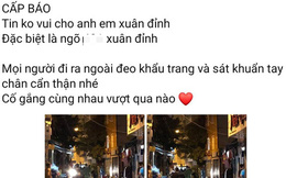 """Hà Nội: Quận Bắc Từ Liêm lên tiếng về một trường hợp """"nghi nhiễm Covid-19"""""""