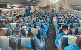 Một ngày đưa hơn 600 công dân Việt Nam mắc kẹt vì COVID-19 về nước