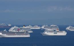 """Thảm cảnh những siêu tàu du lịch mùa Covid-19: Niềm kiêu hãnh trên các đại dương bị """"xếp xó"""", đối mặt án tử hình treo"""