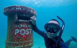Thư điện tử giờ quá thường, bạn hãy thử gửi thư dưới nước xem