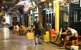 Hà Nội: Đúng 0h ngày 1/8, phố Tạ Hiện đồng loạt tắt đèn, đóng cửa, chìm vào tĩnh lặng để phòng dịch COVID-19