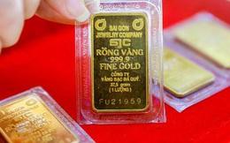Giá vàng tiếp tục giảm mạnh gần 6 triệu đồng/lượng