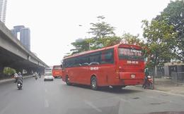 Đề xuất lắp camera trên đường Phạm Hùng phạt nguội xe khách vi phạm