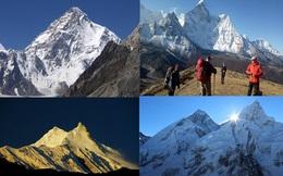 Top 10 ngọn núi cao nhất thế giới đã được chinh phục vào thời gian nào?
