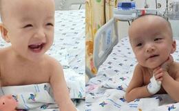 Tan chảy trước biểu cảm dễ thương của 2 bé Diệu Nhi, Trúc Nhi
