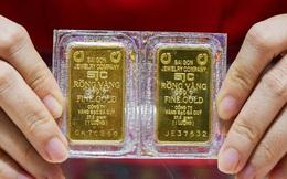 Giá vàng tiếp tục giảm phiên đầu tuần