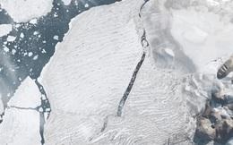 Hình ảnh vệ tinh cho thấy những ngày cuối cùng của thềm băng duy nhất còn sót lại ở Canada trước khi biến mất