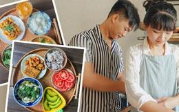 Những mâm cơm rực rỡ của cô gái 26 tuổi có 10 năm ăn chay trường, hạnh phúc với niềm vui nhỏ từ căn bếp
