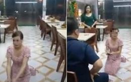 Cô gái quỳ trong quán nướng Hiền Thiện hoảng sợ, có biểu hiện co giật sau khi bị chửi bới, đe dọa