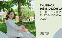 Nữ sinh đạt 10 điểm Văn tốt nghiệp THPT: Tổng kết 9,9, đi học chưa bao giờ điểm dưới 9,5