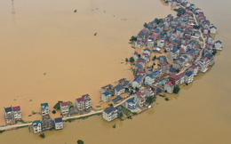 Bão nối bão dồn dập đổ vào Trung Quốc