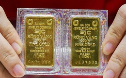 Phiên đầu tuần, giá vàng tăng vọt vượt 57 triệu đồng/lượng