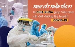 Truy vết thần tốc F1 là chìa khóa giúp Việt Nam cắt đứt đường lây truyền COVID-19