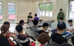 Đêm khuya, hàng chục người vượt biên trái phép vào Việt Nam