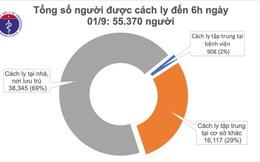 Không có ca mắc COVID-19 mới, hơn 700 bệnh nhân đã khỏi bệnh