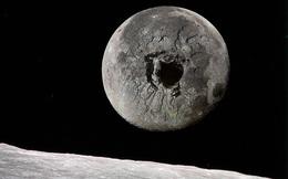 Nếu khoan một hố sâu 3000km xuyên qua tâm của Mặt Trăng, chúng ta sẽ nhìn thấy được gì?