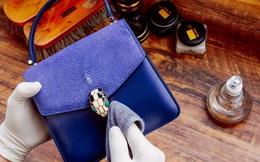 """Dịch vụ spa đồ hiệu dành riêng cho hội nhà giàu, đưa túi - giày đi """"nghỉ dưỡng"""" tút lại nhan sắc như con người và những điều lạ không tưởng về đồ dùng làm bằng da thật"""