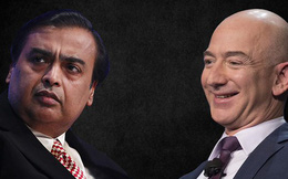 Tỷ phú giàu nhất châu Á đấu với tỷ phú giàu nhất thế giới: Ambani dự định bán 20 tỷ USD cổ phần cho Jeff Bezos
