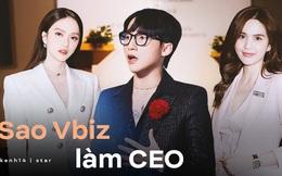 4 tổng tài đời thực nổi tiếng Vbiz: Ngọc Trinh - Hương Giang thành cặp nữ CEO, Sơn Tùng thu về 51 tỷ lãi ròng cùng công ty