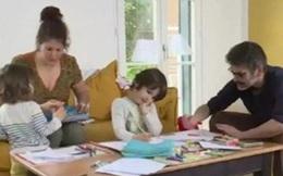 Chính phủ Pháp trả 84% lương cho bố mẹ ở nhà trông con nghỉ học tránh COVID-19