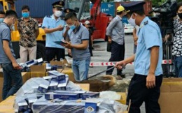 Hải Phòng: Phát hiện hơn 1 triệu bao thuốc lá giả mạo nhãn hiệu