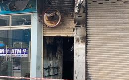 TP.HCM: Cháy tại phòng giao dịch Eximbank