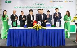 F88 ký hợp tác chiến lược với tập đoàn tài chính KB - KB Financial Group