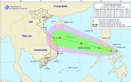 Dự báo thời tiết ngày 16/9: Áp thấp nhiệt đới đi vào Biển Đông, Nam Bộ mưa to
