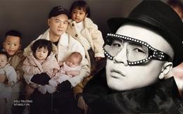 """NTK Đỗ Mạnh Cường - """"ông bố đông con nhất nhì showbiz"""": Chưa từng có kế hoạch nhận con nuôi, hạnh phúc vì """"tri kỉ"""" luôn bên cạnh suốt 13 năm"""