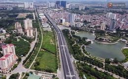 Cận cảnh cầu cạn Mai Dịch - Nam Thăng Long đã rải nhựa xong chờ ngày thông xe