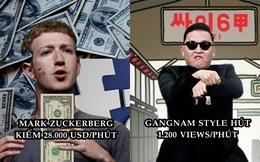 Điều gì xảy ra trên Internet trong 1 phút? 3,8 triệu lượt Google, 211.000 ảnh trên Facebook và 208.000 cuộc họp qua Zoom