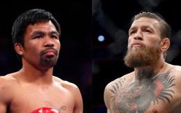 """NÓNG: Conor McGregor chính thức xác nhận đấu Pacquiao ở trận """"siêu đại chiến thế giới"""""""