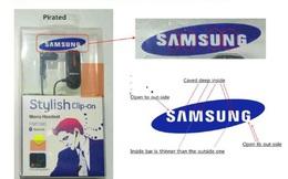 Xử phạt 70 triệu đồng cửa hàng kinh doanh linh kiện giả mạo nhãn hiệu Apple và Samsung