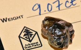 Ghé thăm công viên kỳ lạ ở Mỹ, hầu như ngày nào du khách cũng nhặt được kim cương!
