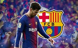 Chả ai yêu Barca bằng thứ tình yêu lạ lùng như anh cả, Messi ạ!