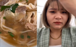 """Nữ vlogger Sài Gòn gặp sự cố hoảng loạn trong chuyến du lịch Nha Trang: Bị chủ quán phở nổi tiếng mắng té tát... đến """"phát khóc"""""""