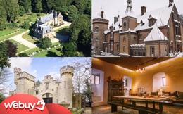 11 tòa lâu đài trong đời thực mà bạn có thể thuê với giá chỉ hơn... 1 triệu đồng/người/đêm