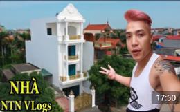 """Tuyên bố """"comeback"""" chinh phục nút kim cương, NTN khoe khéo nhà 4 tầng mới xây, phong cách hoàng gia mạ vàng!"""
