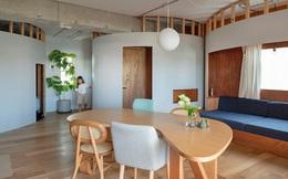 Căn hộ nhỏ chỉ vỏn vẹn 22m² với kiến trúc đặc biệt hình vòng cung tạo sự rộng rãi bất ngờ cho gia đình trẻ người Nhật
